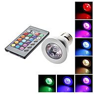 Spot Commandée à Distance RGB/Couleurs Changeantes PAR E26/E27 5 W 1 LM K AC 85-265 V