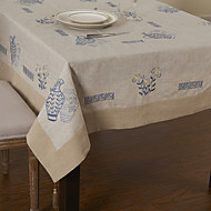 Beige Rectangulaire Nappes de table