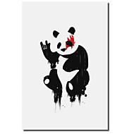 Canvastaulu taide Animal Panda Rocks Budi Satria Kwan