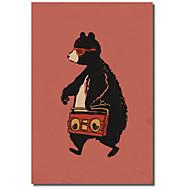 Taulupohjat taide Animal mankka Bear Budi Satria Kwan