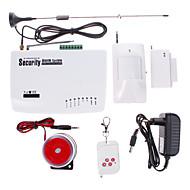 2011 Draadloos GSM woningbeveiliging alarmsysteem (alarmen, SMS, bellen, automatisch nummer bellen)