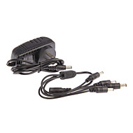 AC 100-240V DC 12V 2A Power Cord CCTV Camera Power Adapter + 1 to 4 FOR CAMERA