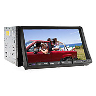 "2 DIN 7 ""LCD touch screen in-dash bil DVD-afspiller med bluetooth, RDS, iPod-indgang, stereo radio, ATV"