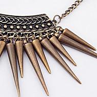 Liu Dingzi warhead cone vintage necklace N242
