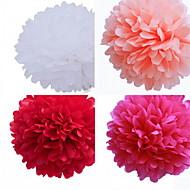 decoração do casamento 8 polegadas flor de papel - conjunto de 4 (mais cores)