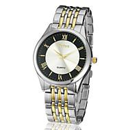 Amazing Zinc Alloy Case Quartz Movement Steel Band Analog Wrist Watch