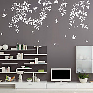 Spring Leaves and Birds SWall Stickers