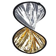"24 ""2 in1 stříbrná zlatá disk skládací Reflektor 60 cm"