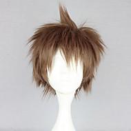 Cosplay Wigs Dangan Ronpa Cosplay Brown Short Anime/ Video Games Cosplay Wigs 30 CM Heat Resistant Fiber Female