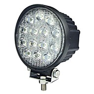 42W 13 LED Round Work Lett