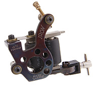 Topp Cast Iron Handmade Coil Tattoo Machine Gun Liner og Shader