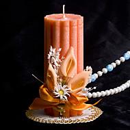 """5.2 """"lyckliga bröllop pelaren ljus apelsin"""