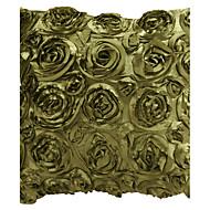 """18 """"fyrkantig grön Roses Patchwork Polyester dekorationskudde Cover"""