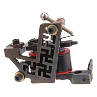 New Arrival Käsintehdyt Coil Tattoo Machine 10 Wrap kelat Tattoo Gun For Shader