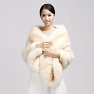 Fur Wraps / Wedding  Wraps Shawls Faux Fur Champagne Party/Evening / Casual