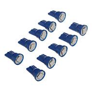 10шт T10 1x5050SMD 10-20LM Буле свет Светодиодные лампы для автомобиля (12 В)