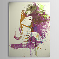 Stretched Canvas Art People Challenger Girl by Naxart