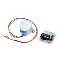 DC 5V модуль тест 4-фазный 5-проводной мотор шага + доска драйвер для (для Arduino)
