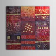 Handgemalte Abstrakt Ein Panel Leinwand Hang-Ölgemälde For Haus Dekoration
