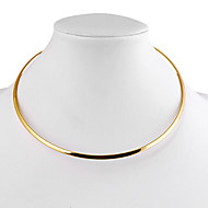 Necklace Choker Necklaces Jewelry Alloy Daily / Casual Gold / Silver 1pc Gift