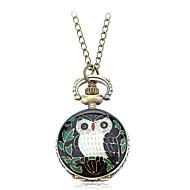 Women's Retro Owl Design Alloy Quartz Necklace Watch Cool Watches Unique Watches