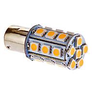 Bay15d/1157 4W 24x5050SMD 216LM 3000-3500K Warm White Light LED Bulb for Car (DC 12V)