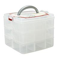 Meikkien säilytys Cosmetic Box / Meikkien säilytys Yhtenäinen 16.3 x 15.0 x 13.0