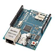 (Az Arduino) ethernet pajzs WIZNET W5100 ethernet chip / TF slot
