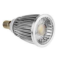 E14 5 W 1 COB 420-450 LM Cool White Spot Lights AC 85-265 V
