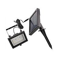 Solar Power Ultra Bright 30 LED Garden Flood Spot Light pelouse fraîche lampe blanche