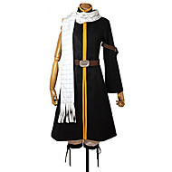Fairy Tail Natsu Dragneel Black Cosplay Costume