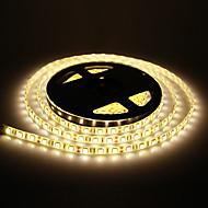 Waterproof 5M 60W 60x5050SMD 3000-3600LM 2800-3200K Warm White Light LED Strip Light (DC12V)