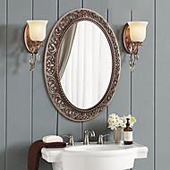 """30 de """"Antique Bronze Cor Polyresin parede do espelho"""