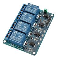 US-Dollar von 6,95 - 4-Kanal-Relaismodul mit Optokoppler 5V für PIC AVR DSP ARM für Arduino