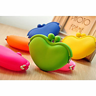 Cute Heart Type Candy Color Wallet