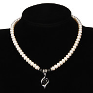 Women's Pearl Necklace Anniversary/Gift/Party/Special Occasion Rhinestone