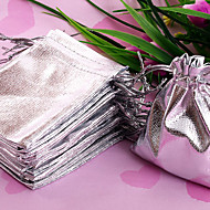 Jewelry Bags Fabric Silver