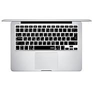 XSKN Silicon Laptop Keyboard Skin Cover til MacBook Pro MacBook Air Arabisk sprog Layout