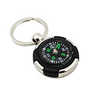 Personlig Keychain Favor Med Compass - Set om 4