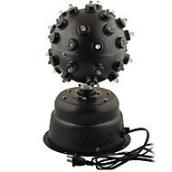 AC110V ~ 220V rotación LED RGB Control por voz Etapa de iluminación
