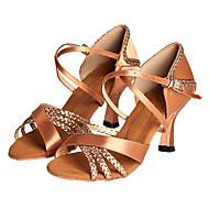 Latin/Salsa Customize Women's Satin Dance Shoes Ballroom Sandals