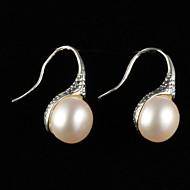Drop Earrings Women's Alloy Earring Pearl