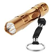 Lights LED Flashlights/Torch / Handheld Flashlights/Torch LED Lumens 1 Mode 5mm Lamp AA Everyday Use Aluminum alloy
