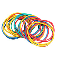 100PCS/pack Colorful Elastic Rubber Bands