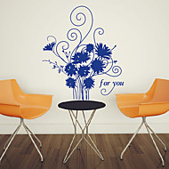 Floral Flowers for You Wall Stickers