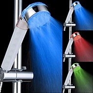 LED Light Color Changing Top Spray Shower Head Bathroom Showerheads