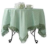 "Country Style Plaid Nappe, Poly / Coton 40 ""* 40"""