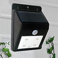 Solar Powered 4 LED PIR Sensor Outdoor Light(CIS-57164)