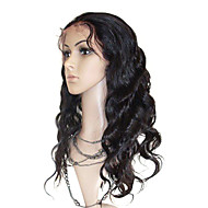 Maleisië Curly 18inch 100% Indian Remy Human Hair Sexy Natural Baby haar Pruiken
