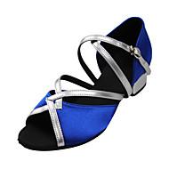 נעליים בצבע בלוק סנדלי זמש עליון קשת רצועת Dance Dance לילדים או נשים (צבעים נוספים)
